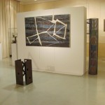 ' Signes énigmatiques '2010 195×114 cm