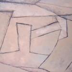 ' Composition ' 1998 73×50 cm