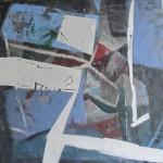 ' Contraste n°20 ' 2012 100×100 cm