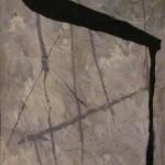 ' Composition ' 1998 73×60 cm