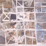 ' Composition instrumentale ' 1995 100×81 cm