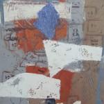 ' Composition instrumentale ' 1998 46×38 cm