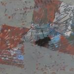 ' Composition instrumentale ' 1998 46×27 cm