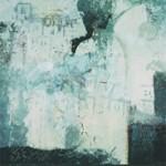 ' Composition instrumentale ' 1998 81×65 cm