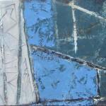 ' Harmonie bleue ' 2000 55×46 cm