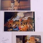 ' Bacchus ' Copie au Louvre 1996