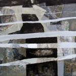 ' Rectangle blanc ' 2000 73×50 cm