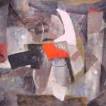 ' La tache rouge ' 2010 81×65 cm