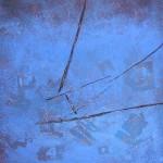 ' Le Grand Bleu ' 2002 100×81 cm