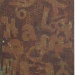 ' Arrangement instrumental n°5 ' 2011 61×50 cm