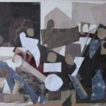 ' Tableau de famille ' 1998 60×30 cm