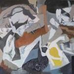 ' Alma Mater ' 1990 92×65 cm
