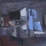 ' Le compotier ' 1995 73×60 cm