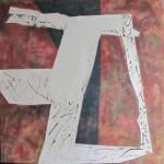 ' Contraste n°12 ' 2012 100×100 cm