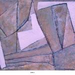 ' Composition ' 1998 65×54 cm
